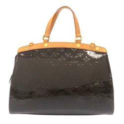Louis Vuitton Brown Monogram Vernis Brea MM Bag