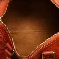 Louis Vuitton Brown Epi Leather Speedy 25 Bag