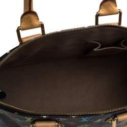 Louis Vuitton Black Multicolor Monogram Canvas Alma PM Bag