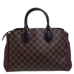 Louis Vuitton Damier Ebene Canvas and Leather Normandy Bag