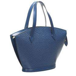 Louis Vuitton Blue Epi Leather Saint Jacques Short Strap PM Bag