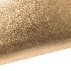 Louis Vuitton Metallic Gold Leather Louise Clutch