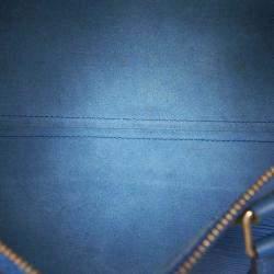Louis Vuitton Blue Epi Leather Speedy 30 Bag