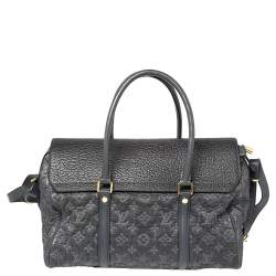 Louis Vuitton Gris Monogram and Leather Limited Edition Volupte Psyche Bag