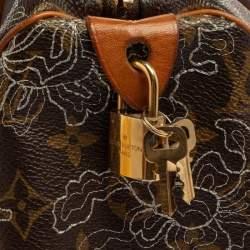 حقيبة لوي فيتون دينتيل سبيدي 30 إصدار محدود كانفاس مونوغرامي