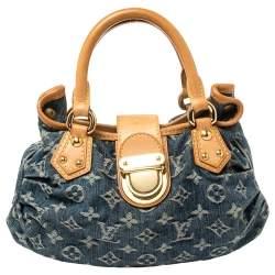 Louis Vuitton Blue Monogram Denim Pleaty Bag