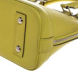 Louis Vuitton Pistache Epi Leather Alma BB Bag