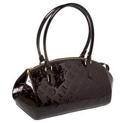 Louis Vuitton Amarante Monogram Vernis Sherwood PM Bag