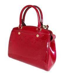 Louis Vuitton Magenta Monogram Vernis Leather Brea PM Bag