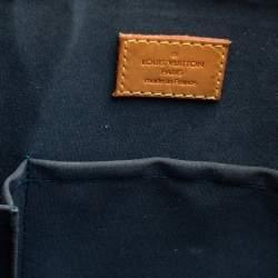 Louis Vuitton Dark Green Monogram Vernis Leather Alma GM Bag