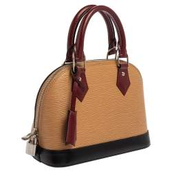 Louis Vuitton Tri-Color Epi Leather Alma BB Bag