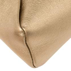 Louis Vuitton Gold Leather Love Note Bag