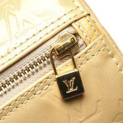Louis Vuitton Cream Monogram Vernis Bedford Bag