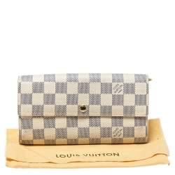 Louis Vuitton Damier Azur Canvas Sarah Wallet