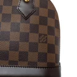 Louis Vuitton Damier Ebene Canvas Alma BB Bag