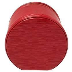 Louis Vuitton Red Epi Leather Cannes Bag