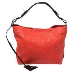 Louis Vuitton Corail Monogram Antheia Leather Hobo PM Bag