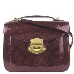 Louis Vuitton Brown Monogram Vernis Mirada Bag