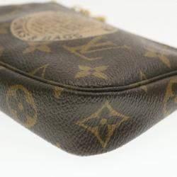 Louis Vuitton Brown Monogram Canvas Pochette Accessoires Limited Edition Bag