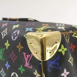Louis Vuitton Black/Multicolor Vintage Multicolore Monogram Speedy 30 Bag