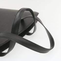 Louis Vuitton Black Epi Leather Saint Jacques Shopping Bag