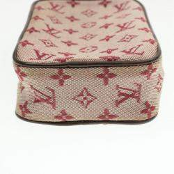 Louis Vuitton Monogram Mini Lin Canvas Digital Camera Case Bag