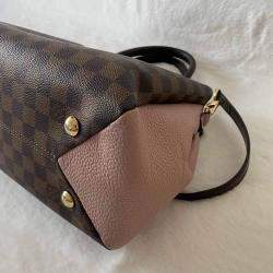 Louis Vuitton Brown Damier Ebene Canvas Brittany Bag
