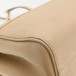 Louis Vuitton Beige Monogram Empreinte Leather Saint-Germain MM Bag