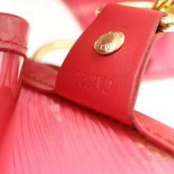 Louis Vuitton Red Epi Leather Plage Lagoon Bay GM Bag