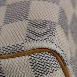 Louis Vuitton White/Grey Damier Azur Canvas Speedy 30 bag