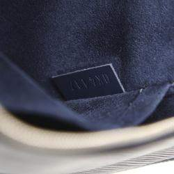 Louis Vuitton Blue Epi Leather Neverfull Pouch