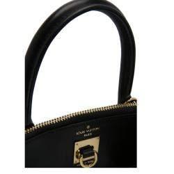 Louis Vuitton Black Leather City Steamer PM Bag