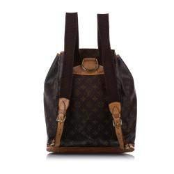 Louis Vuitton Monogram Canvas Montsouris Backpack Bag