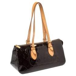 Louis Vuitton Amarante Monogram Vernis Rosewood Avenue Bag