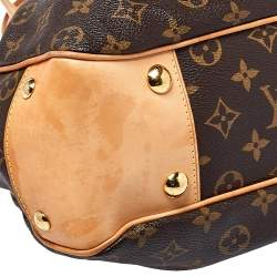 Louis Vuitton Monogram Coated Canvas Boetie MM Satchel