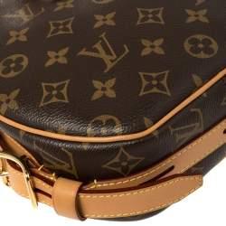 Louis Vuitton Monogram Canvas and Leather Boite Chapeau Souple Crossbody Bag