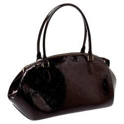 Louis Vuitton Amarante Monogram Vernis Sherwood GM Bag