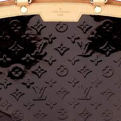 Louis Vuitton Amarante Monogram Vernis Brea GM Bag