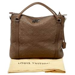 Louis Vuitton Fumee Monogram Antheia Leather Ixia MM Bag