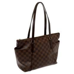 Louis Vuitton Damier Ebene Canvas Totally PM Bag