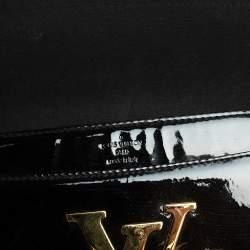 Louis Vuitton Black Vernis Leather Louise Clutch