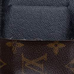 Louis Vuitton Monogram Macassar Canvas Neo Porte Cartes Card Holder