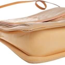 Louis Vuitton Beige Monogram Vernis Mott Bag