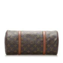 Louis Vuitton Monogram Canvas Papillon 30 Bag