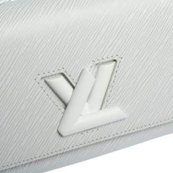 Louis Vuitton White Epi Leather Twist PM Bag