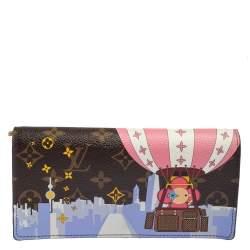Louis Vuitton Brown Monogram Canvas Vivienne Shanghai Sarah Wallet