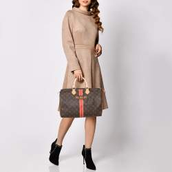 Louis Vuitton Monogram Canvas My LV Heritage Speedy 35 Bag