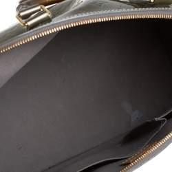 Louis Vuitton Vert Olive Monogram Vernis Alma GM Bag