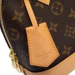 Louis Vuitton Brown Monogram Canvas And Leather Alma BB Bag