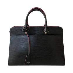 Louis Vuitton Black Epi Leather Vaneau GM Bag